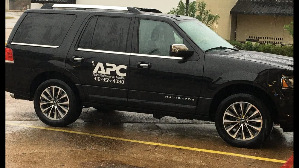 Alpine Professional Chauffeur: 4501 Jackson St, Alexandria, LA