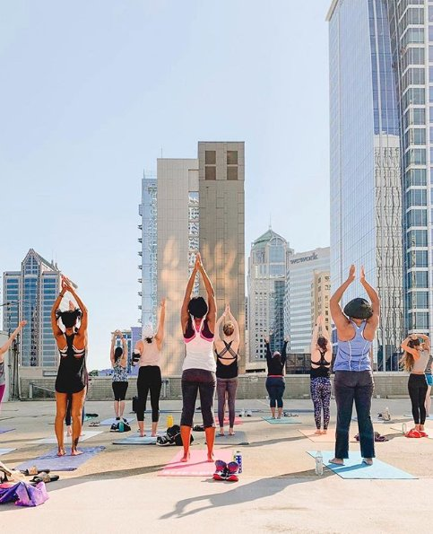 NC Yoga Bar: 933 Louise Ave, Charlotte, NC