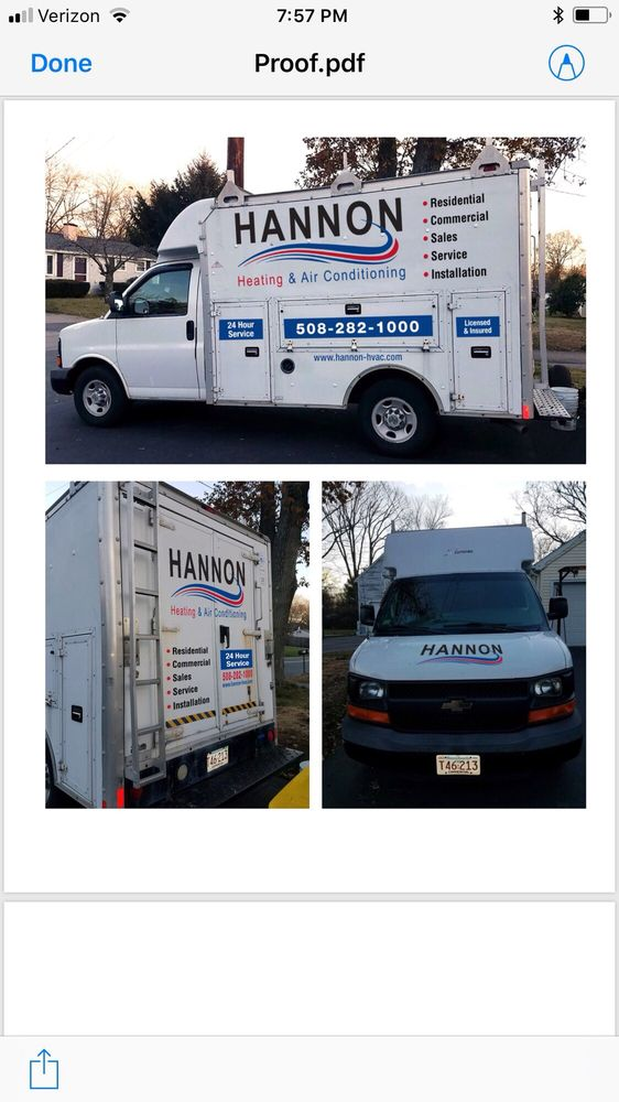 Hannon Heating and Air: Bellingham, MA