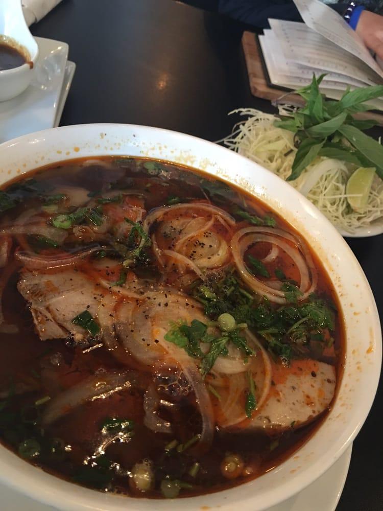 Bun bo hue yummy yelp for V kitchen ann arbor