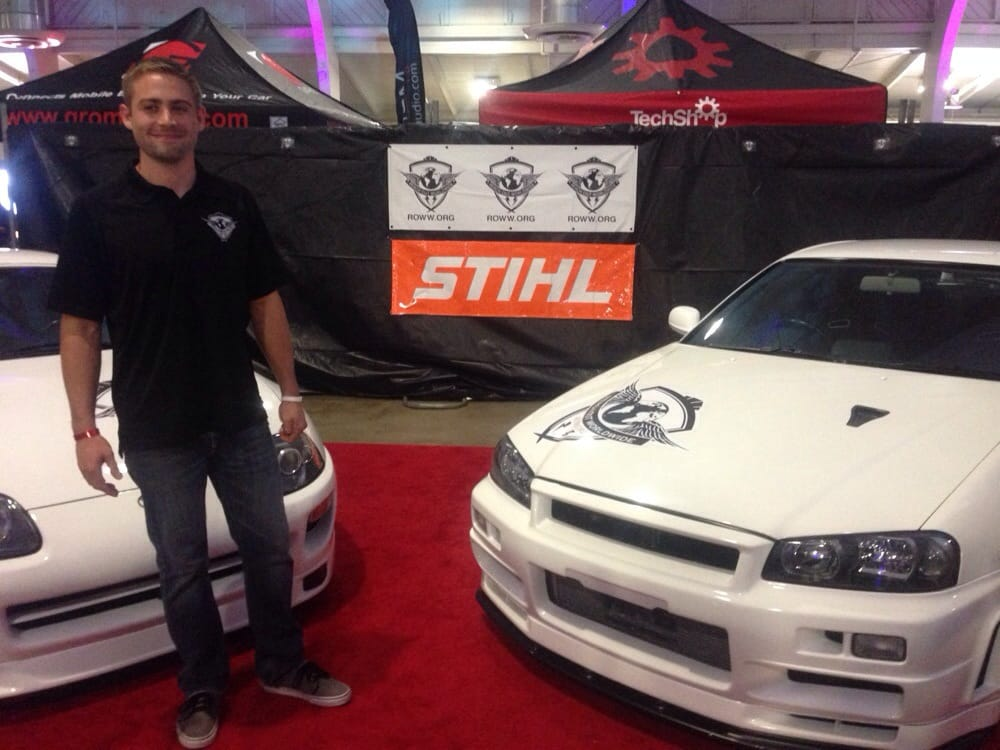 Saw Paul Walkers Brother Along With Paul Walkers Personal GTR R - Santa clara fairgrounds car show