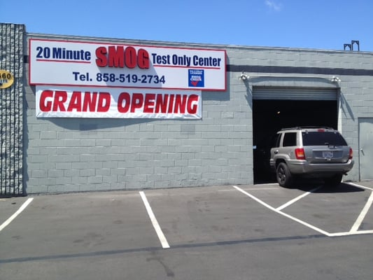 20 Minute Smog Test ly Center CLOSED Smog Check