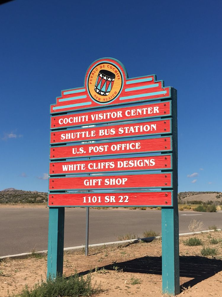 Cochiti Visitor Center: 1101 State Rd 22, Cochiti Pueblo, NM