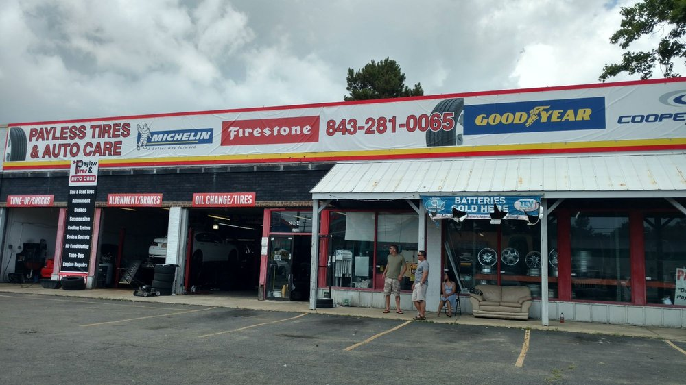 Payless Tires & Auto Care: 2904 Hwy 17 S, North Myrtle Beach, SC
