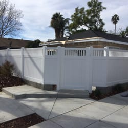 Photo Of Showtime Vinyl Fence U0026 Patio Cover   Costa Mesa, CA, United States