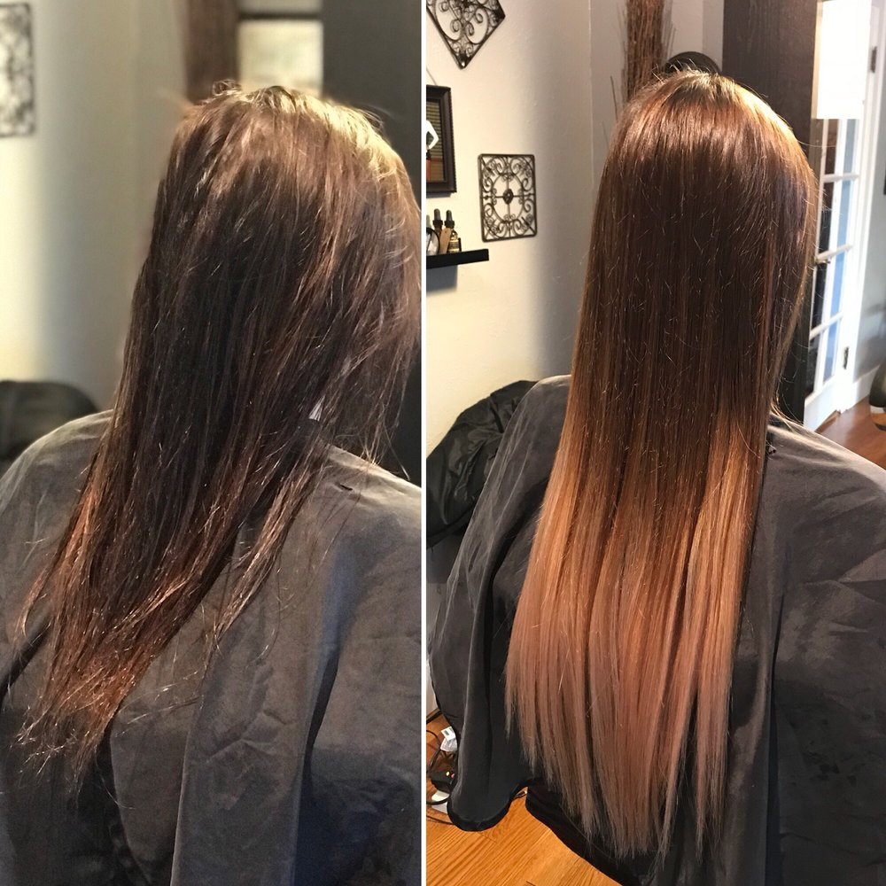 Add Length And Thickness With Tape In Hair Extensions Yelp