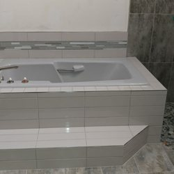 Photo Of Bowes Tile Clearwater Fl United States Bathroom Remodel Tub And