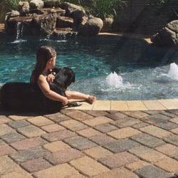 pool Girls skinny dipping