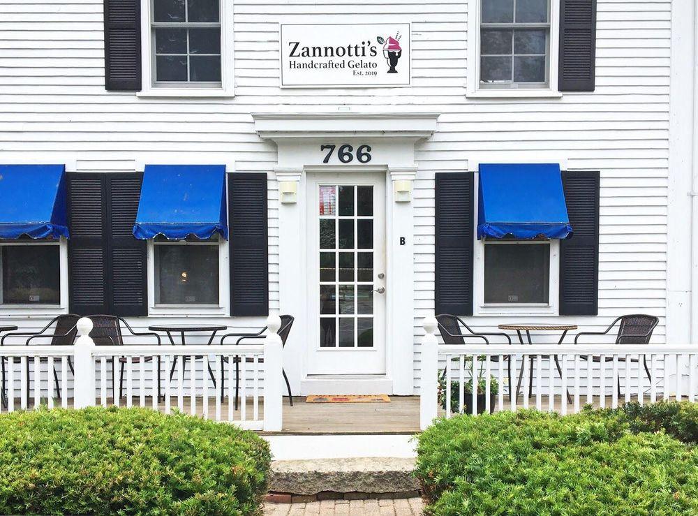 Zannottis Handcrafted Gelato: 766 Main St, Dennis, MA