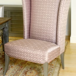 Photo Of Estetica Custom Upholstery Design Miami Fl United States Custom Custom Wing Back Dining Room Chair