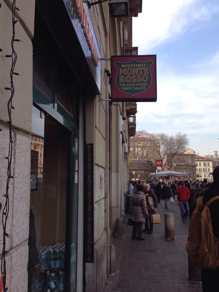 Ristoro monterosso pizza corso lodi 2 porta romana - Pizzeria milano porta romana ...