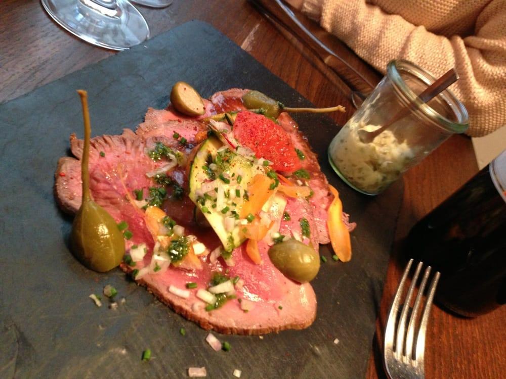 Roast beef appetizer yelp - La cantine du troquet dupleix ...
