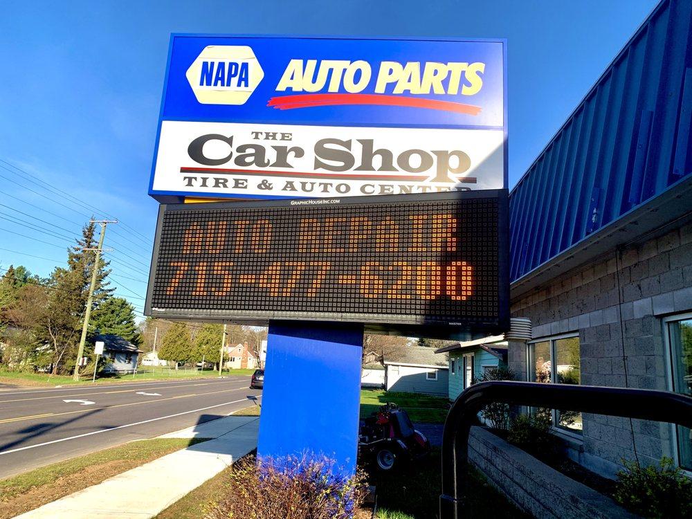 The Car Shop: 224 S 7th St, Eagle River, WI