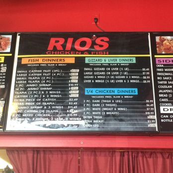rio s chicken fish order food online 74 photos 146