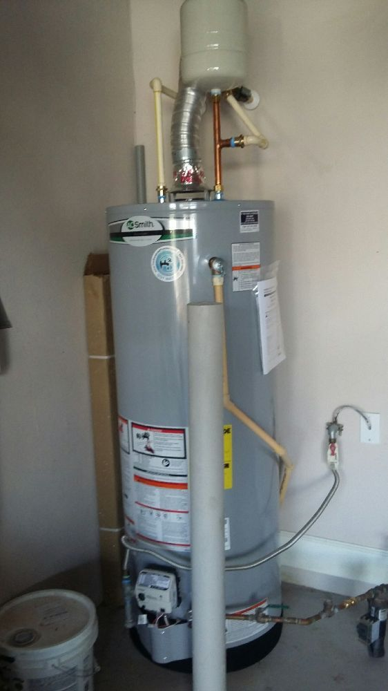 Gas Hot Water Heater Replacement