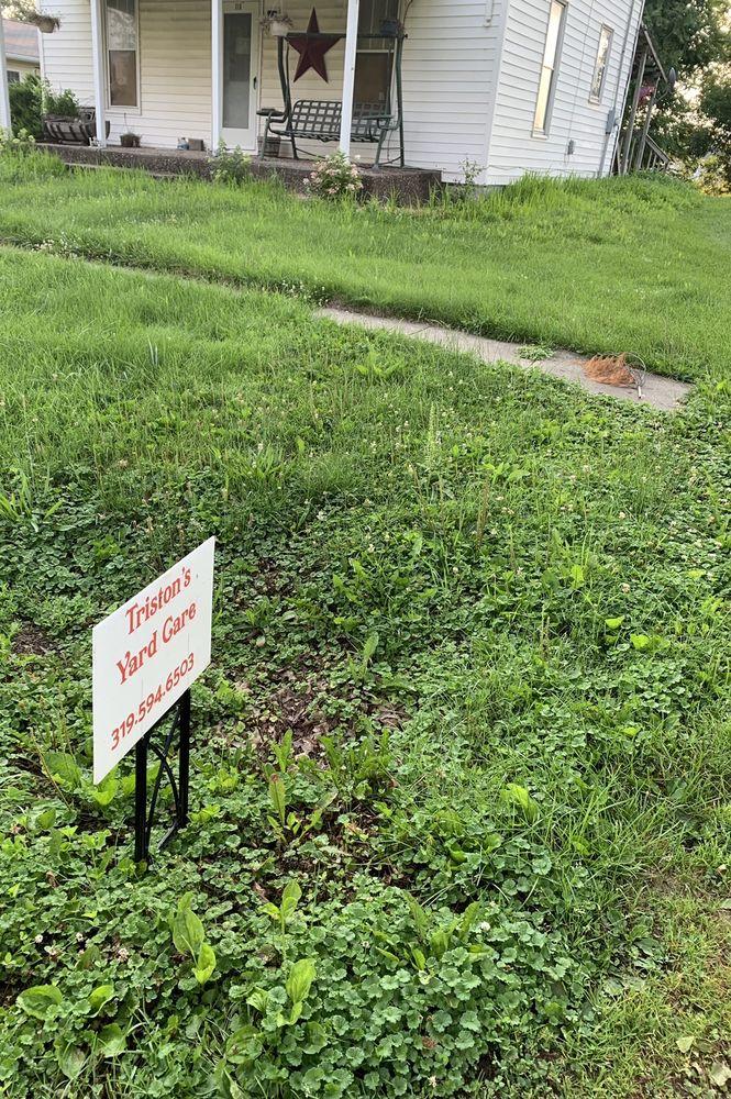 Triston's Yard Care: 118 Walnut St, Columbus Junction, IA
