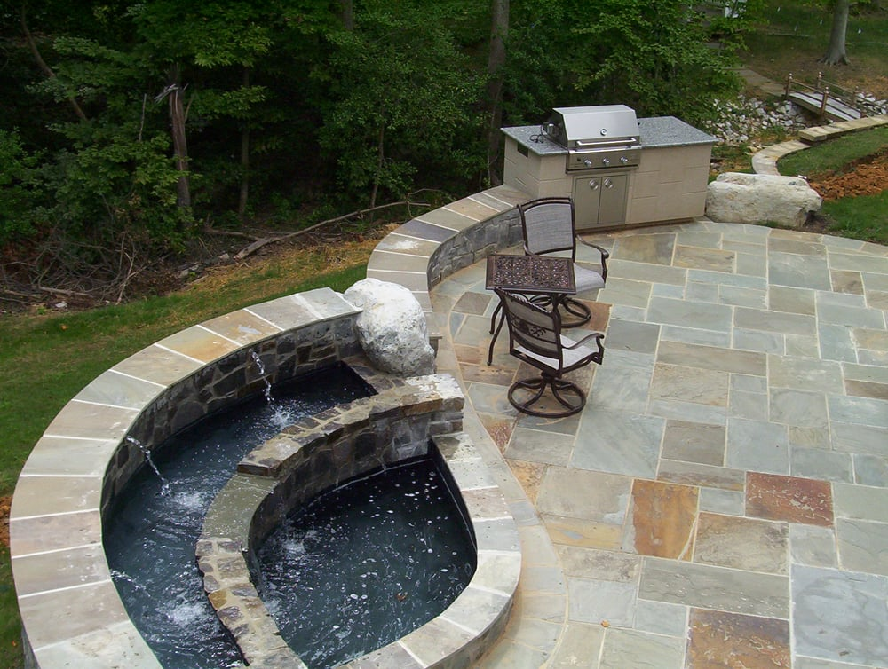 Exceptional Photo Of Allentuck Landscaping   Clarksburg, MD, United States. Flagstone  Patio, Outdoor