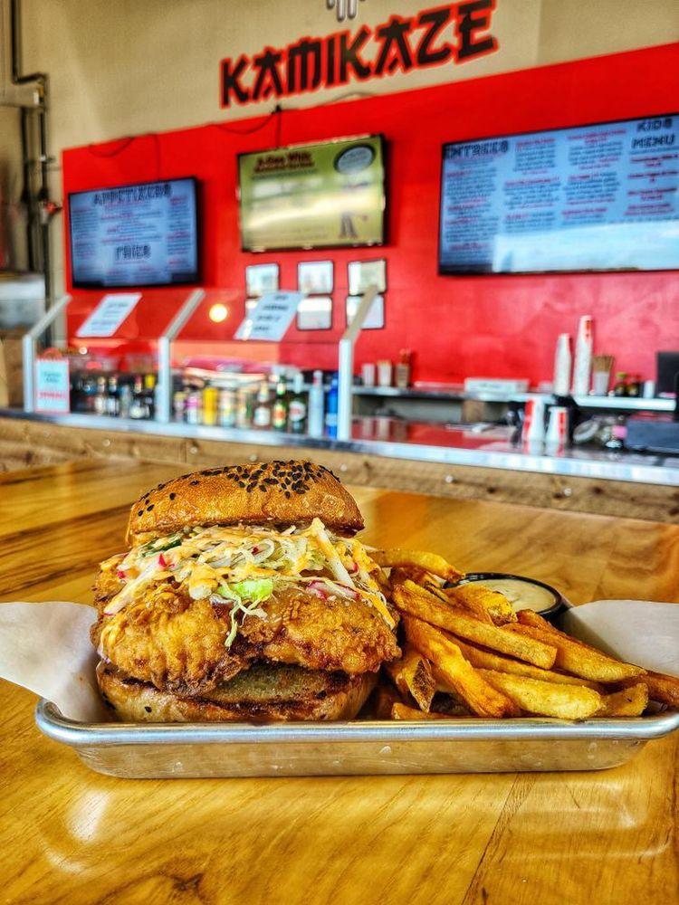 Kamikaze Kitchen: 3517 Wyoming Blvd NE, Albuquerque, NM