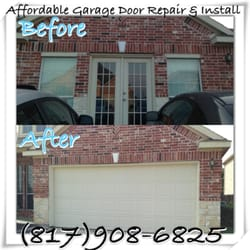 Photo Of Affordable Garage Door Repair U0026 Install   Fort Worth, TX, United  States