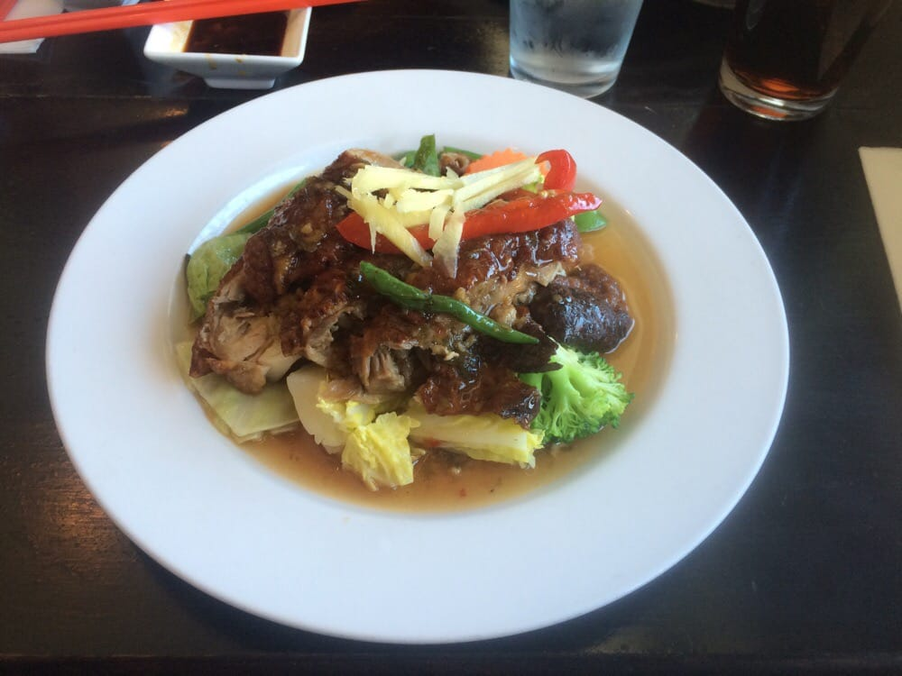 spicy duck trying a new dish yelp ForAroi Fine Thai Japanese Cuisine