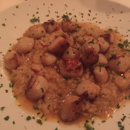 The River Palm Terrace - Edgewater, NJ, United States. Scallop & lobster risotto