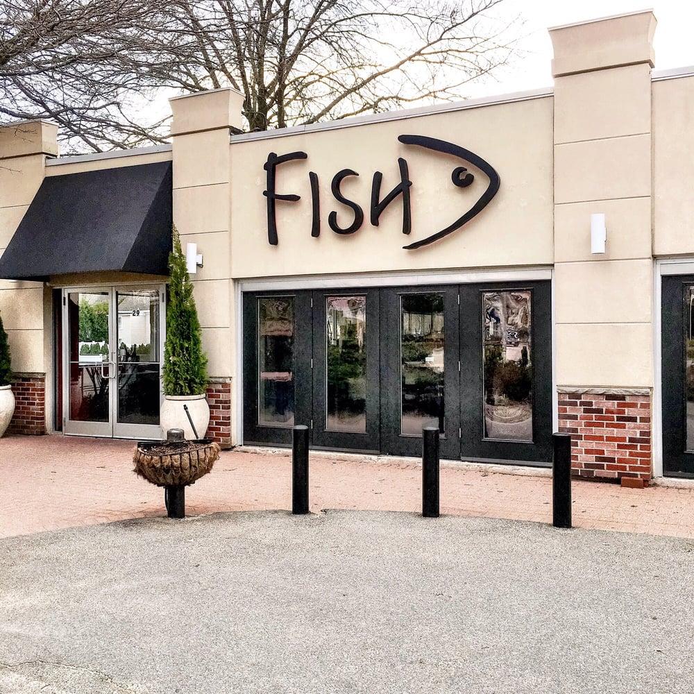 Photos for fish restaurant wine bar outside yelp for Fish marlborough ma