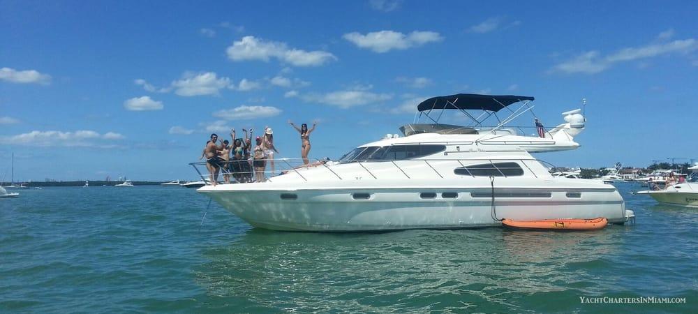 Yacht Charters in Miami: 10800 Collins Ave, Miami, FL