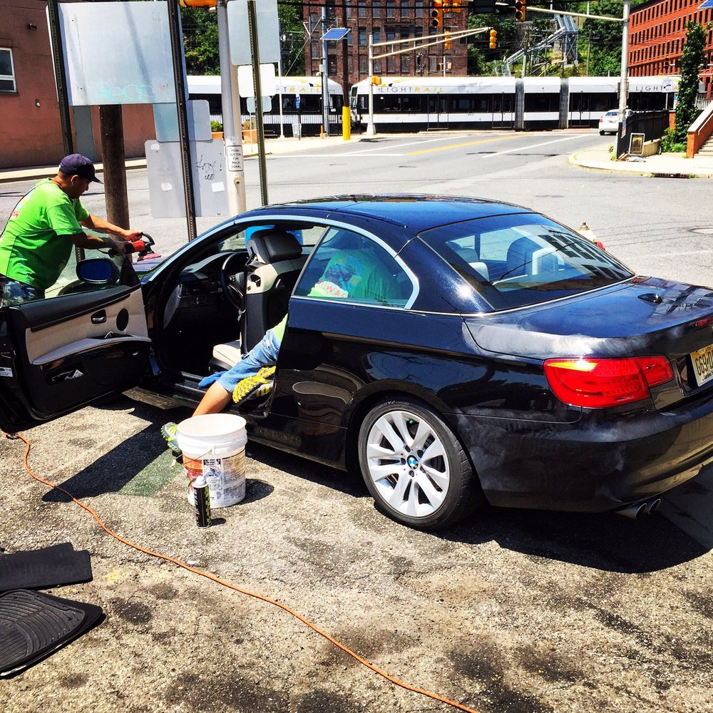 Brushless Car Wash Near Me >> Getting my car detailed at Triangle. Guys working hard. - Yelp