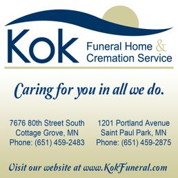 Photo Of Kok Funeral Homes   Cottage Grove, MN, United States