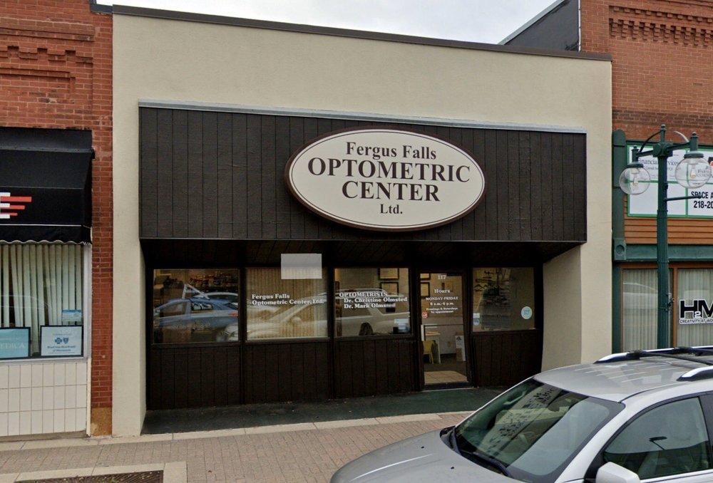 Fergus Falls Optometric Center: 117 E Lincoln Ave, Fergus Falls, MN