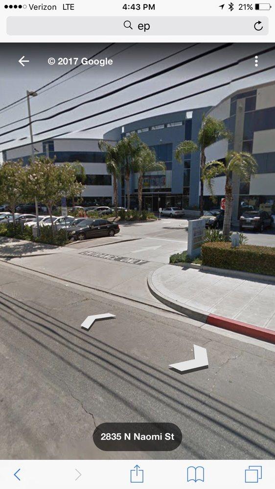 PSI Examination Site: 2835 N Naomi St, Burbank, CA