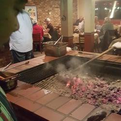 Photo Of Alexander S Steak House Springfield Il United States Raking The Coals