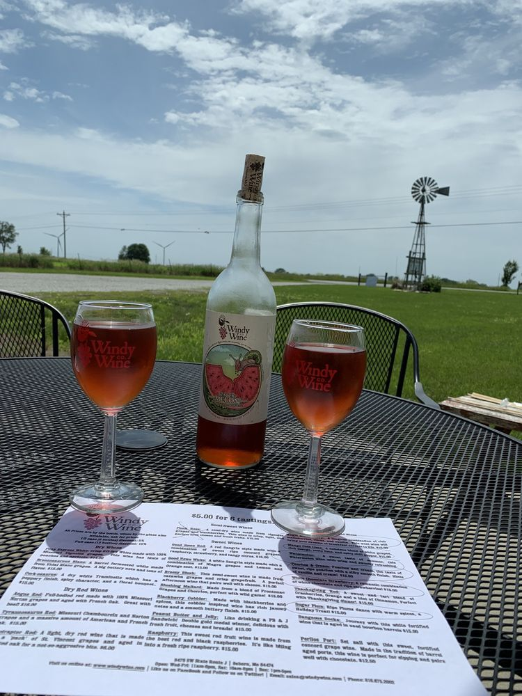 Windy Wine Company: 9478 SW State Rt J, Osborn, MO