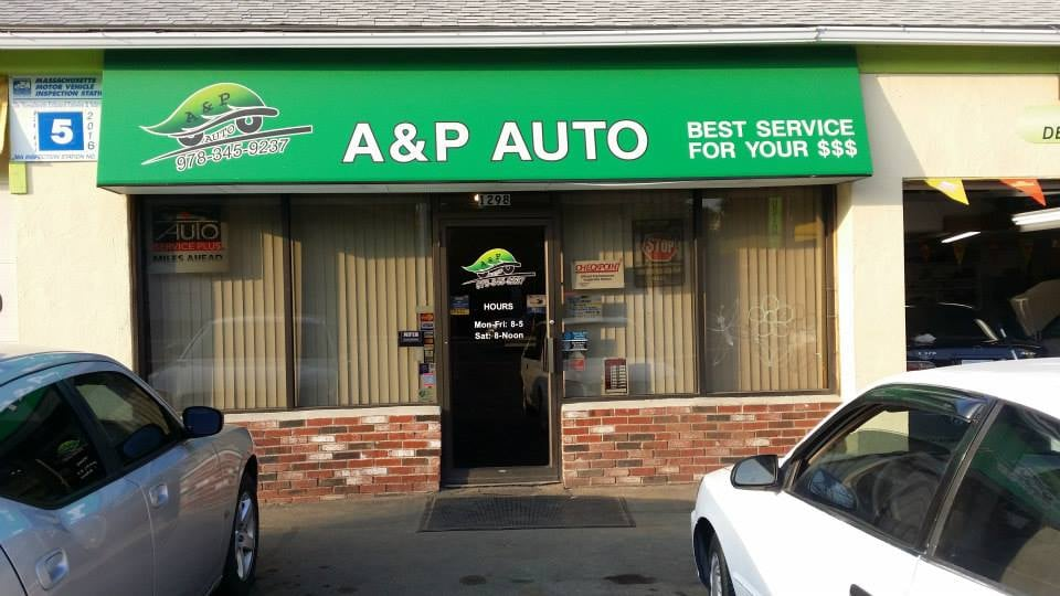 A & P Auto: 1298 Water St, Fitchburg, MA