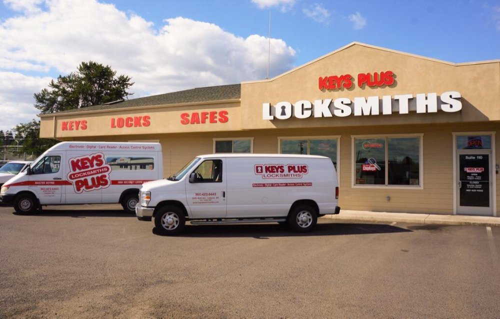 Keys Plus Locksmiths: 2025 9th Ave, Longview, WA