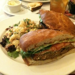 Photo Of El Patio   Santa Fe, NM, United States. Turkey Meatloaf Sandwich