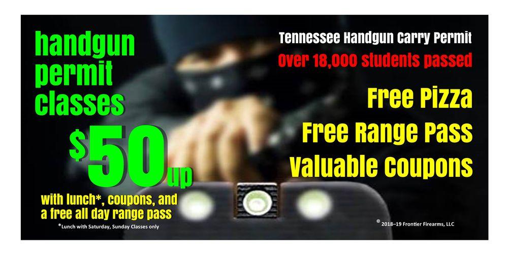 Frontier Firearms Family Shooting Center: 1218 Gallaher Rd, Kingston, TN