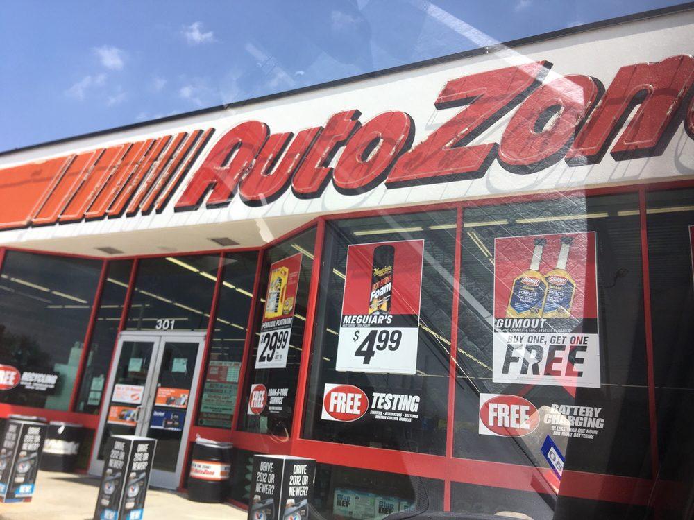 AutoZone: 301 Harwood Rd, Bedford, TX
