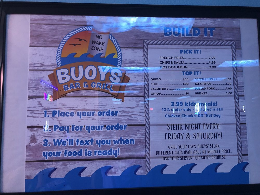 Buoys Bar & Grill: 207 W Marina Rd, Storm Lake, IA