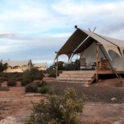 Deluxe tent Photo of Under Canvas - Moab - Moab UT United States. Deluxe Tent ... & Under Canvas - Moab - 139 Photos u0026 82 Reviews - Campgrounds - 13784 ...