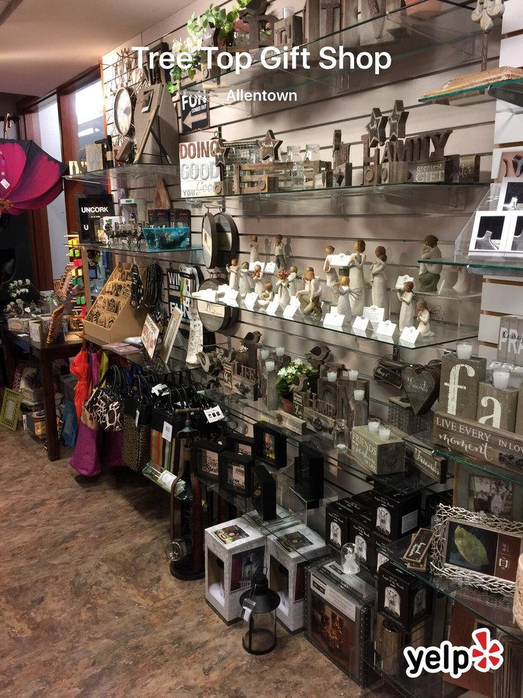 Tree Top Gift Shop: 1200 S Cedar Crest Blvd, Allentown, PA