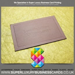 Super luxury business cards get quote 26 photos printing photo of super luxury business cards manchester united kingdom printed luxury business cards reheart Images