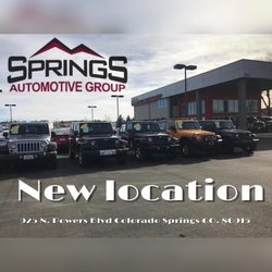 springs automotive group used car dealers 925 n powers blvd colorado springs co phone. Black Bedroom Furniture Sets. Home Design Ideas