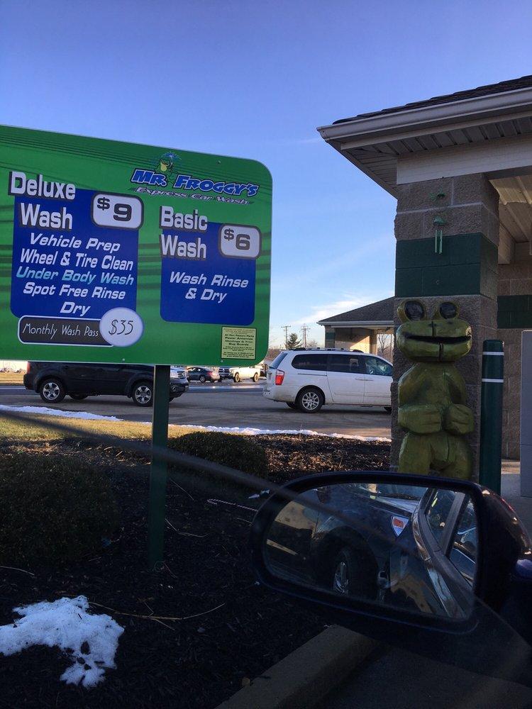 Mr Froggy's Express Car Wash