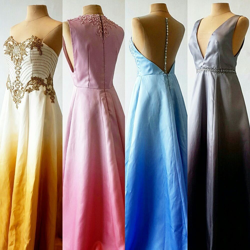 part of our collection of Ombre gowns for rent. by RoyAnne Camillia ...