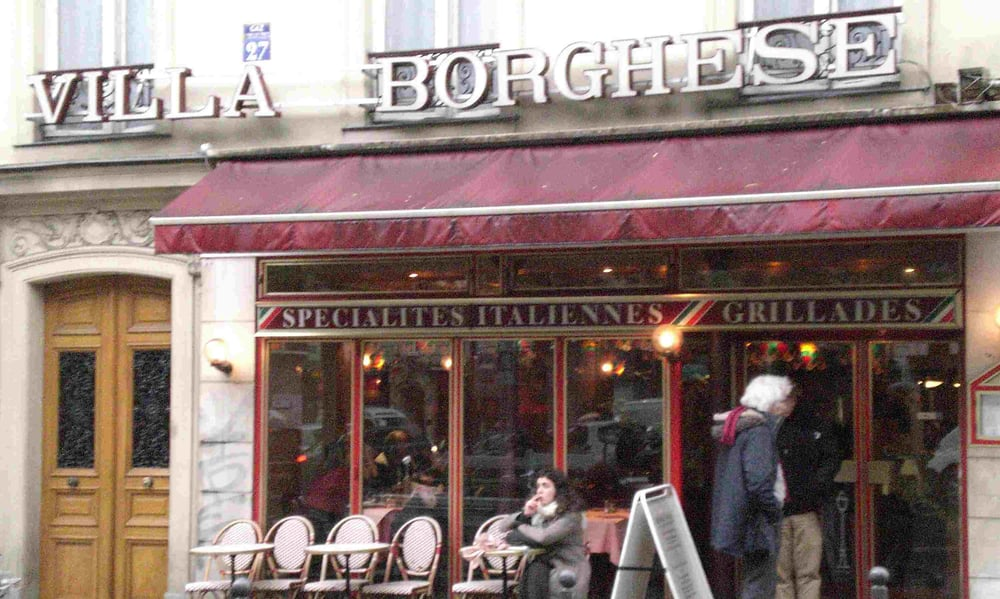 Villa Borghese Paris Montparnasse