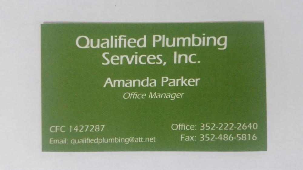 Qualified Plumbing: 7051 Ne 122nd Pl, Bronson, FL