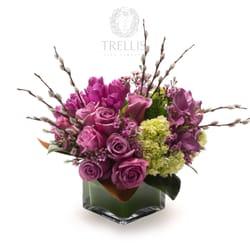 Trellis fine florals ferm 25 photos fleuriste 51 for 1633 broadway 28th floor new york ny 10019