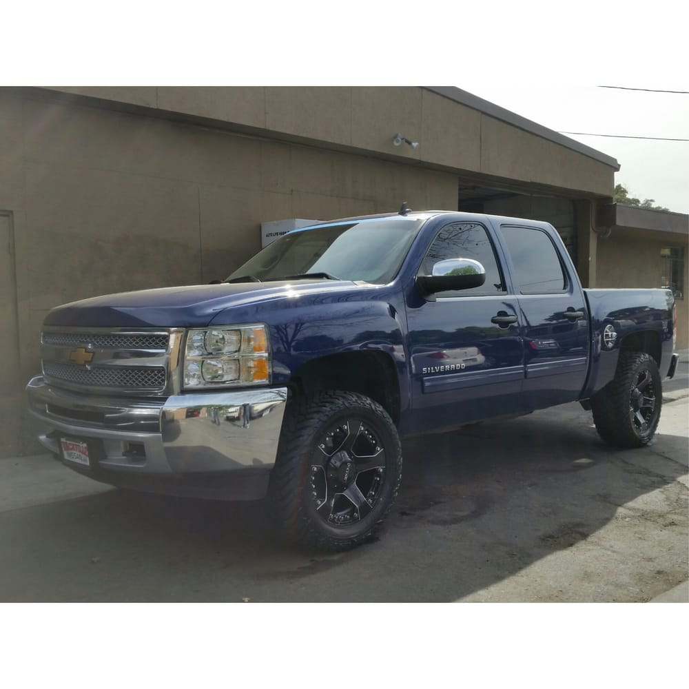 All Chevy chevy 1500 leveling kit : 20x10 d'centi rims and 33