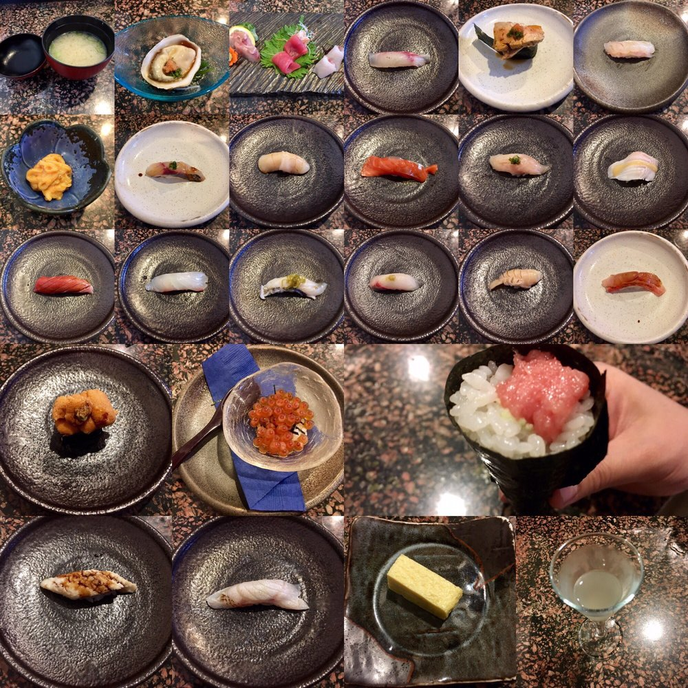 27 Courses Total But Only 25 Pictured.